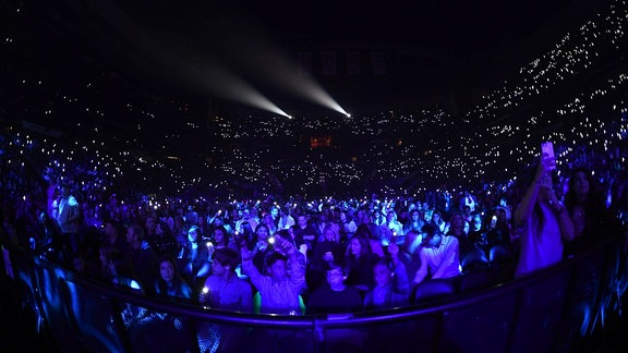 Aufnahme vom Publikum in der Philips Arena in Atlanta.