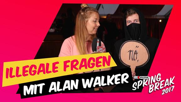 Illegale Fragen mit Alan Walker