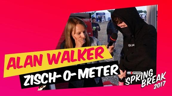 Alan Walker im Zisch-O-Meter