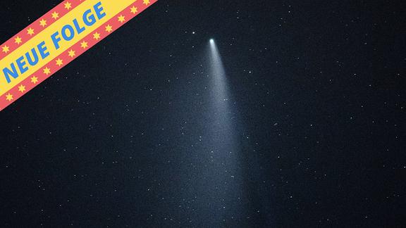 Der Komet Neowise.