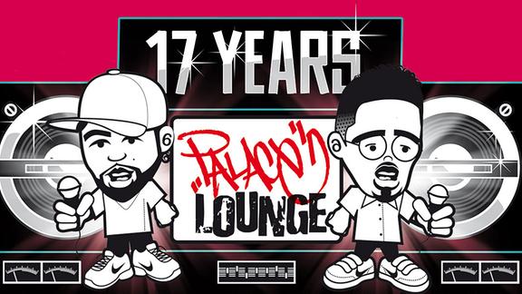 "Plakat zur Veranstaltung ""17 Years Palace Lounge"""