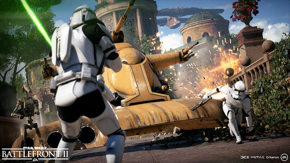 Screenplay von Star Wars Battlefront