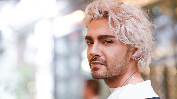 Bill bei der Modemesse in Milano