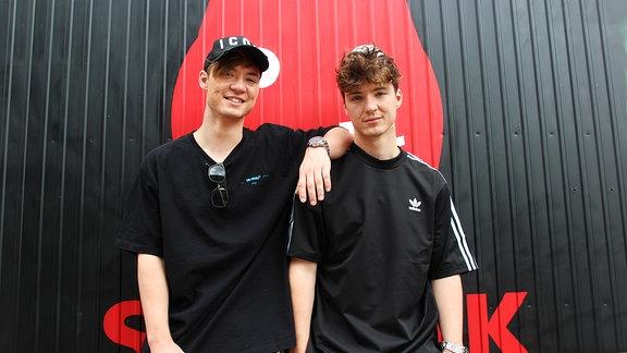 """Die Zwillingsbrüder Roman und Heiko Lochmann sind """"Die Lochis"""", zu Besuch bei MDR SPUTNIK"""