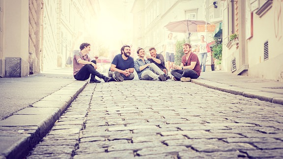 Granada ist eine österreichische Mundart-Band aus Graz, fotografiert von Katharina Jessner