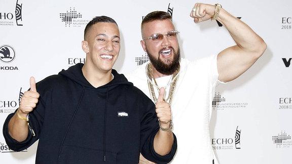 Kollegah und Farid Bang bei der Echo-Verleihung 2018