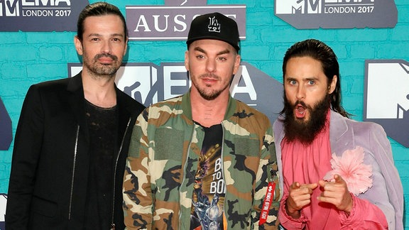 30 Seconds To Mars, London Dez. 2017