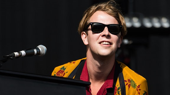 Tom Odell beim Glastonbury Festival 2016