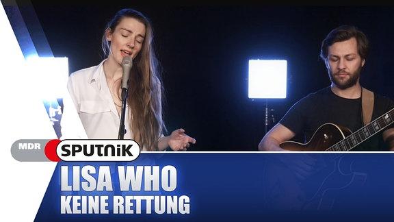 """Lisa Who? Ja, genau die! Ihren Song """"Keine Rettung"""" gibt's hier in der exklusiven SPUTNIK Videosession."""