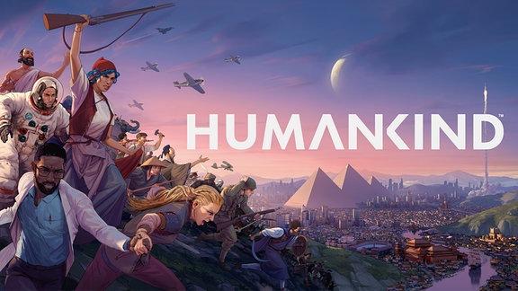 Das Wallpaper des neuen Games Humankind.