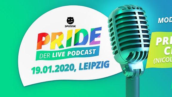 Der Live-Podcast von SPUTNIK Pride mit Prince Charming Nicolas Puschmann und Ricarda von Busenfreundinnen. Moderiert von SPUTNIKer Kai!
