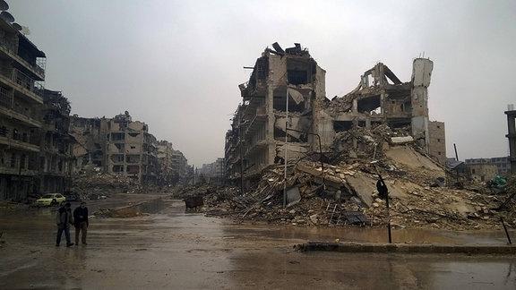 Aleppo/Syrien im Dezember 2016