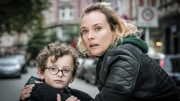 """Diane Kruger und Rafael Santana in """"Aus dem Nichts"""" (Filmszene)"""