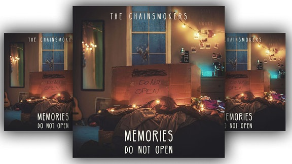"The Chainsmokers, Albumcover ""Memories Don't Open"""