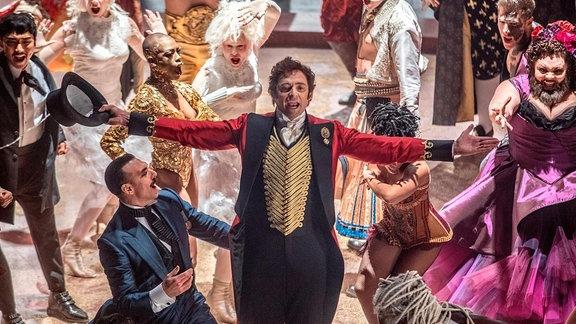 "Hugh Jackman in ""Greatest Showman"""