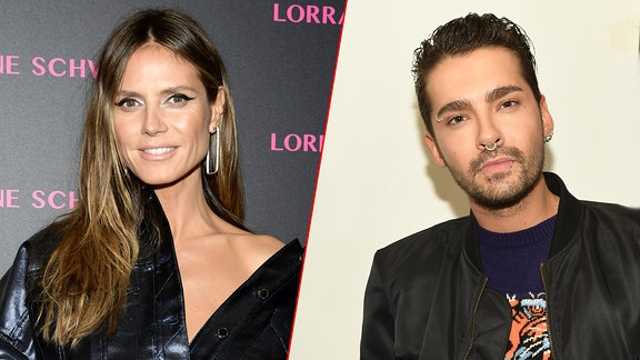 Heidi Klum und Bill Kaulitz/Collage