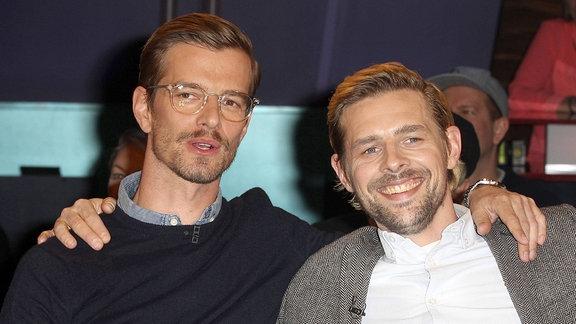 Joko Winterscheidt (li.) und Klaas Heufer Umlauf