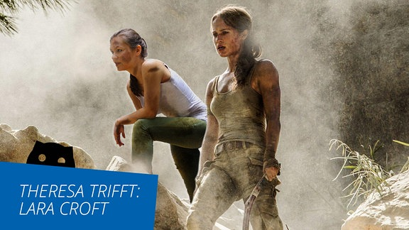 SPUTNIKerin Theresa trifft Lara Croft