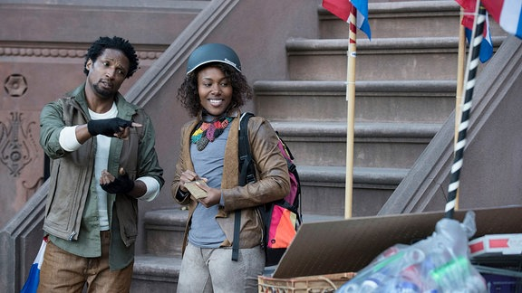 "DeWanda Wise und Elvis Nolasco in dr Netflixserie ""Nola Darling"""