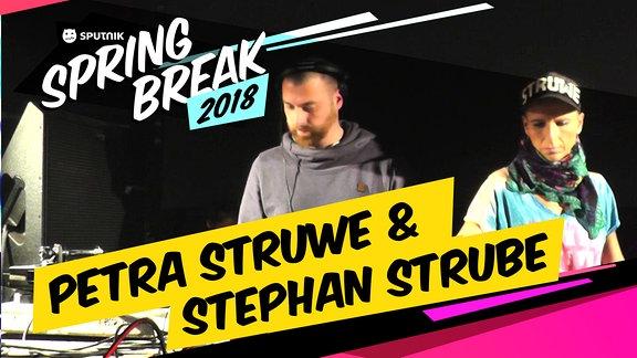 Petra Struwe und Stephan Strube beim SSB18