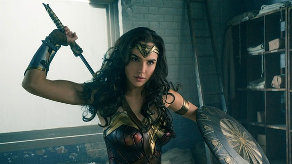 "Gal Gadot als ""Wonder Woman"""