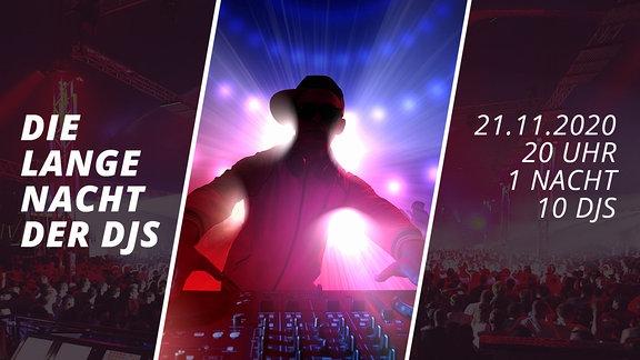 1 Nacht, 10 DJs und DEIN Set!