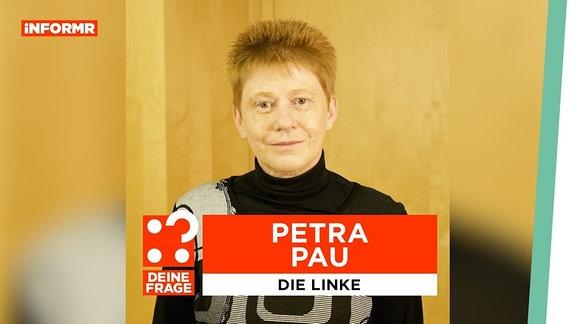 """Thumbnail des Videos """"Deine Frage // Petra Pau"""""""
